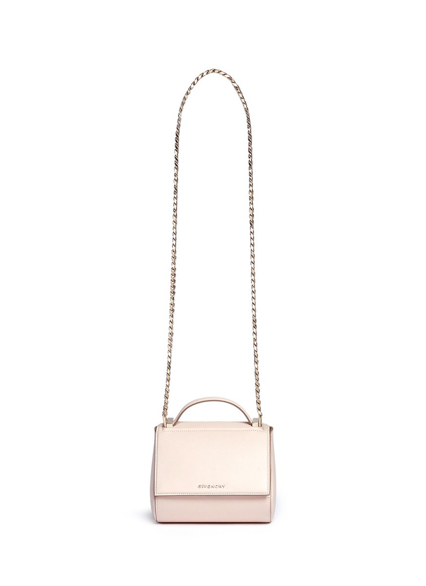8086a82113 Latest Obsession  Givenchy Pandora Box Chain Leather Shoulder Bag in ...
