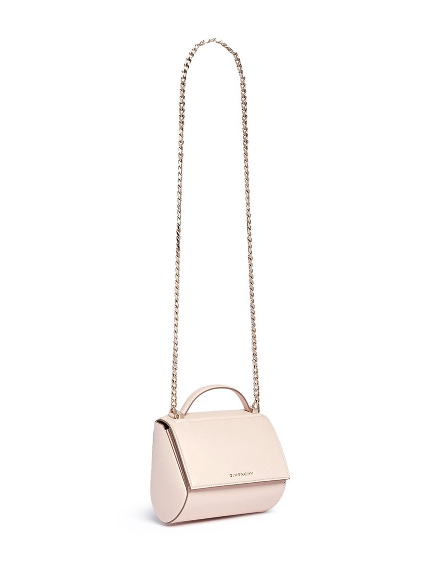 801da1203a Latest Obsession: Givenchy Pandora Box Chain Leather Shoulder Bag in ...